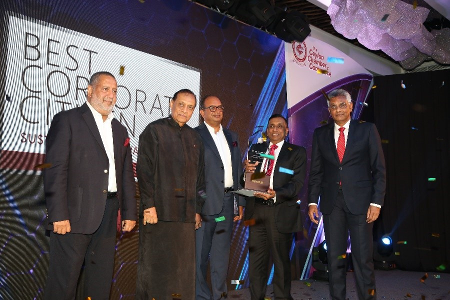 Aitken Spence PLC - Winner of the 'Best Corporate Citizen Sustainability Award 2018'!