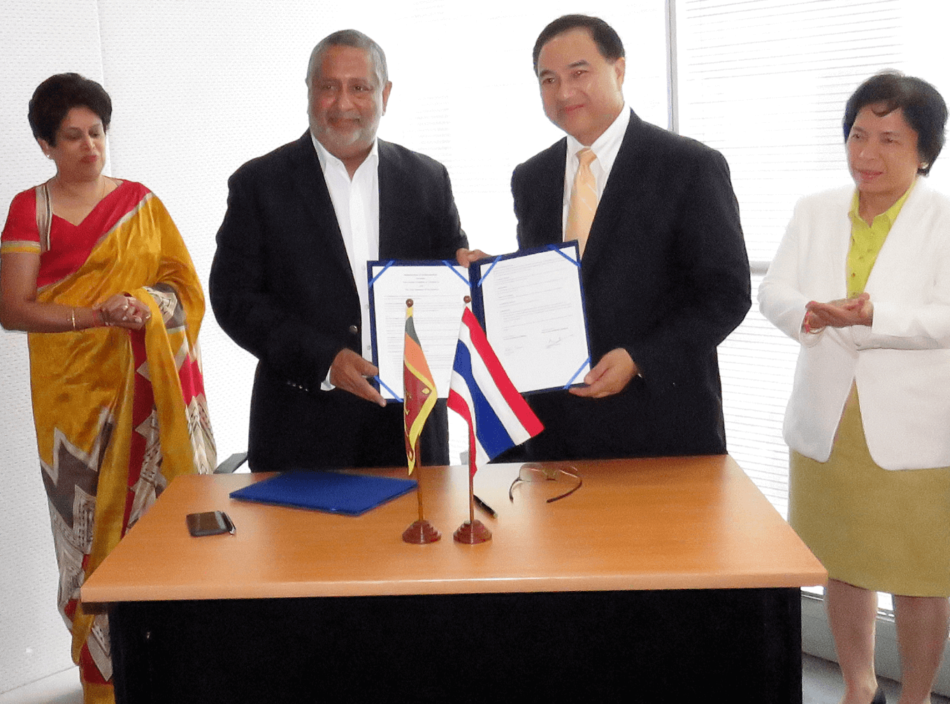 Ceylon Chamber expands its wing to Thailand to strengthen