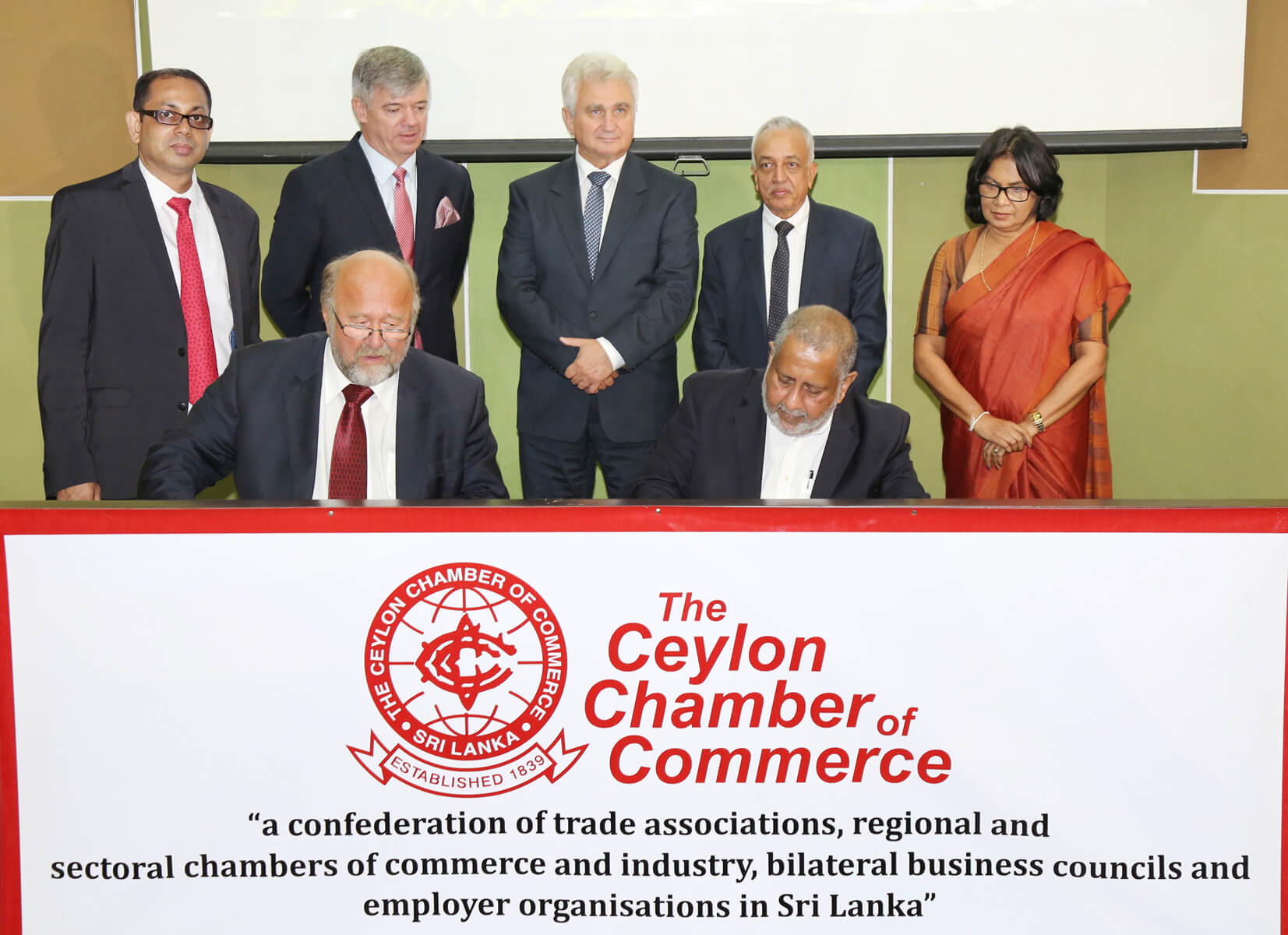 Ceylon Chamber signs MoU with Czech Chamber to strengthen trade, investment and tourism opportunities