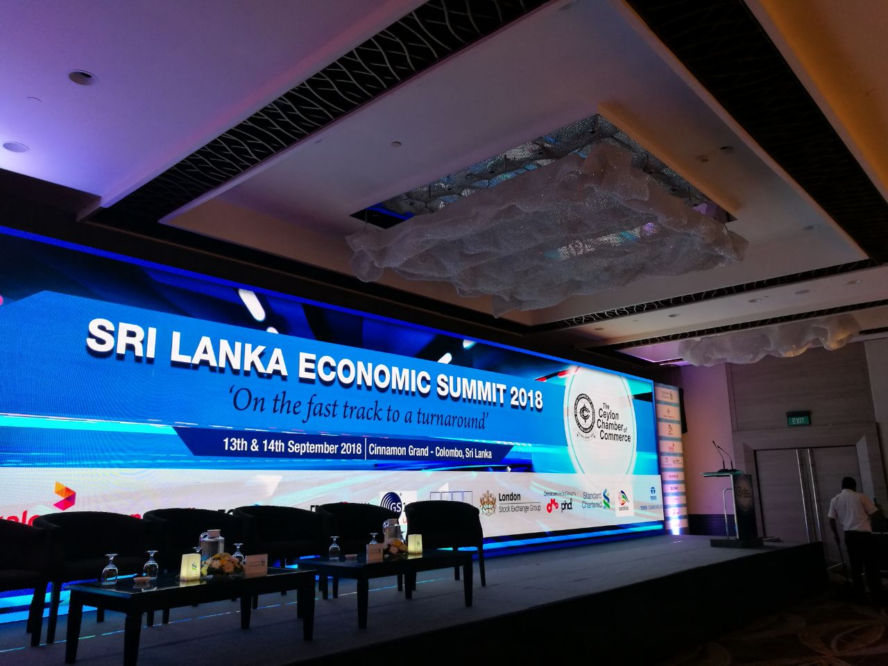Sri Lanka Economic Summit 2018 kicks off today!