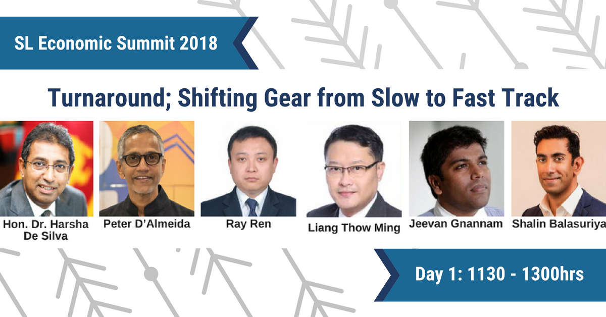 Economic Summit 2018 - Shifting Gear, Realizing Vision 2025
