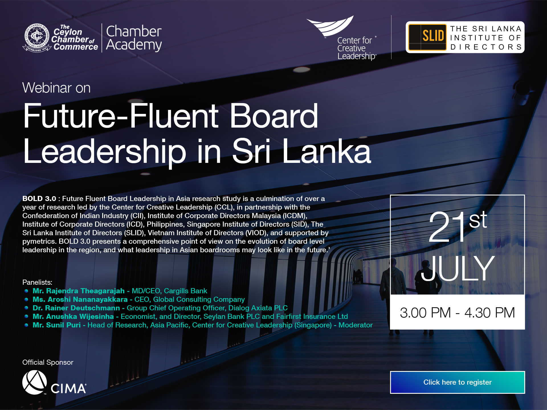 FUTURE-FLUENT BOARD LEADERSHIP IN SRI LANKA