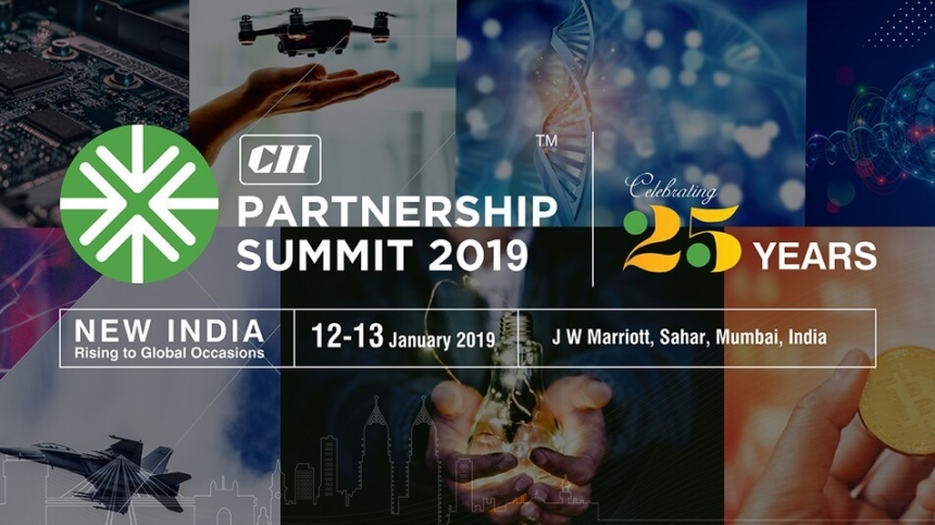 Delegation to Partnership Summit 2019 - New India Rising To Global Occasions