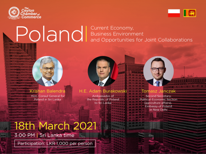 Webinar on Poland - Current Economy, Business Environment and Opportunities for Joint Collaborations